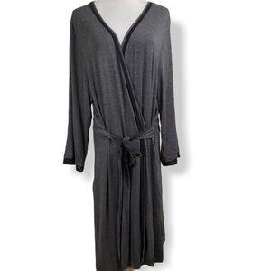 Simply Vera Wang XL Gray Robe Sleep Lounge
